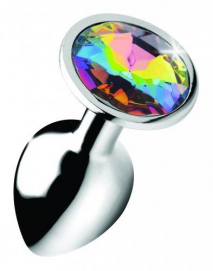 Rainbow Gem Buttplug - Klein - Booty Sparks | PleasureToys.nl