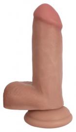 Realistische Dildo Met Balzak - 16.5 cm - Bareskin | PleasureToys.nl