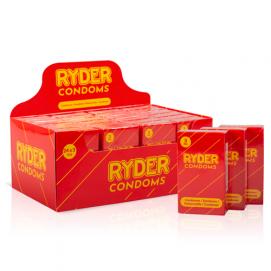 Ryder Condooms - 24 x 3 Stuks - Ryder | PleasureToys.nl