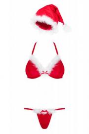 Santastic Sexy Kerstkostuum Voor Vrouwen - Obsessive   PleasureToys.nl