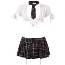 Schoolmeisjes Uniform - Cottelli Collection   PleasureToys.nl