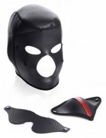Scorpion Hood Met Afneembare Blinddoek En Mondmasker - Master Series | PleasureToys.nl