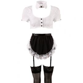 Serveersters Outfit - Cottelli Collection   PleasureToys.nl