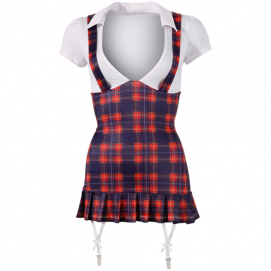 Sexy schoolmeisje outfit - Cottelli Collection | PleasureToys.nl