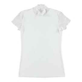 Shirt Met Kanten Mouwtjes - Doreanse   PleasureToys.nl