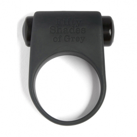 Siliconen penisring - 50 tinten grijs - Fifty Shades of Grey   PleasureToys.nl