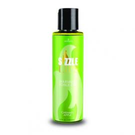 Sizzle Lips Warming Gel - Caramel Apple - Sensuva | PleasureToys.nl