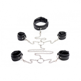 Slave Bondage Shackle Set - Strict | PleasureToys.nl