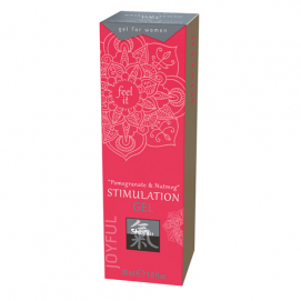 Stimulation Gel - Pomegranate & Nutmeg - Shiatsu | PleasureToys.nl