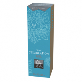 Stimulerende Gel - Mint - Shiatsu | PleasureToys.nl