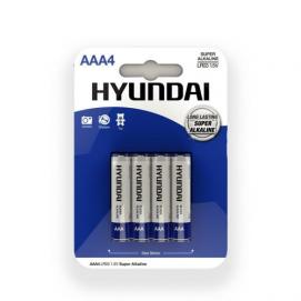 Super Alkaline AAA-Batterijen - 4 Stuks - Hyundai | PleasureToys.nl