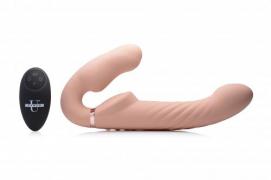 Swirl Vibrerende Strapless Strap-On - Strap U | PleasureToys.nl
