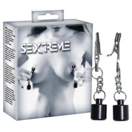 Tepelklemmen met Gewichten - 50 gr - Sextreme | PleasureToys.nl