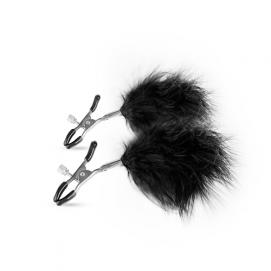 Verstelbare Tepelklemmen Met Veren - Easytoys Fetish Collection | PleasureToys.nl