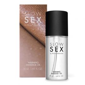 Verwarmende Massageolie - Slow Sex | PleasureToys.nl