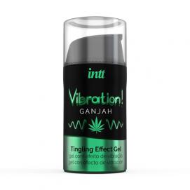 Vibration! Ganjah Tintelende Gel - INTT | PleasureToys.nl