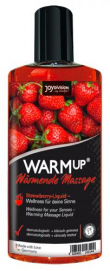 Warm-Up Massage Olie - Aardbei - Joydivision | PleasureToys.nl