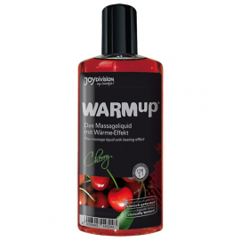 Warm-Up Massage Olie - Kers - Joydivision | PleasureToys.nl