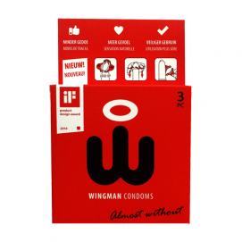 Wingman Condooms 3 Stuks - Wingman Condooms | PleasureToys.nl