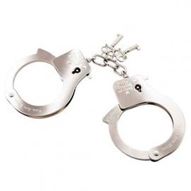 You are Mine - Metal Handcuffs - Fifty Shades of Grey | PleasureToys.nl